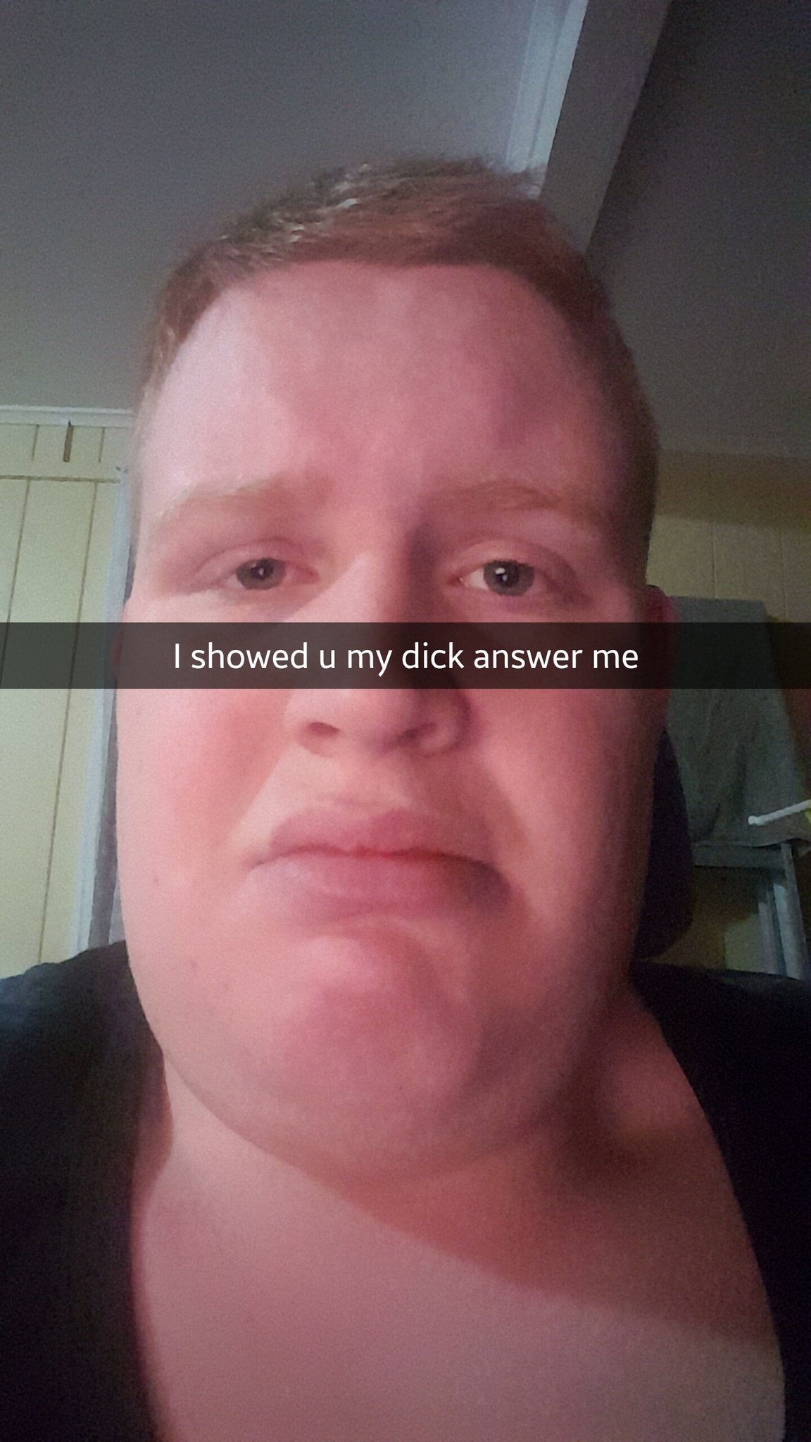 I Showed You My Dick Awnser Me