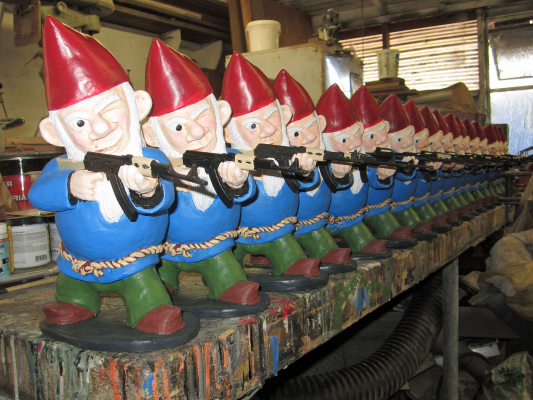 Image result for gnome army
